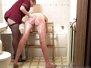 Karen Gets Her Culo Washed Indeed Good!!!