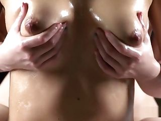 Ample Tits Honey Gets Milk Cans Rubdown