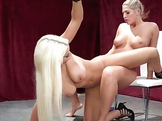 Superb Huge-titted Lesbos Scissoring With Mind-fellating Passion! - Val Dodds And Bridgette B