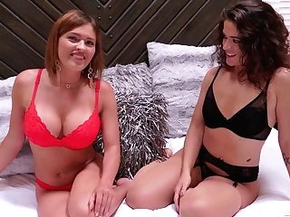 Krissy Lynn & Victoria Voxxx - Sharing Bang-out Stories