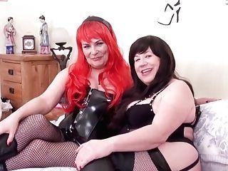 'oldnanny Hot Matures Ladies Lovin' Pleasing Session'