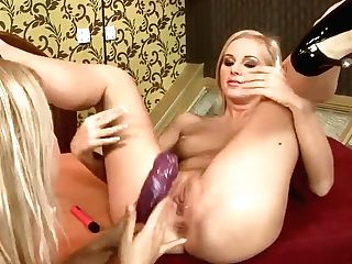 Nikky Thorne And Barbie Milky Lezzing It Out