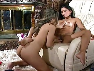 Sultry Asian Lezzies Getting Off