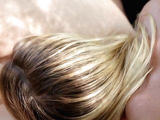 Blonde Dana Dearmond Is Good On Her Way To Satiate Her Girl/girl Friend Jessi Andrews