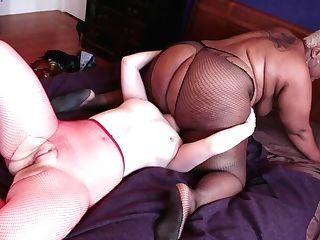 Blonde Black Makes Boy's Love Torpedo Firmer Before Getting Her Vagina Banged Interracially