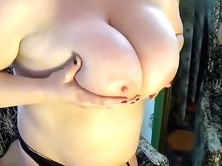 Bbw Honey Fuck Sticks Herself.